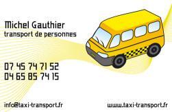 Cartes de visite taxi 679 - 35