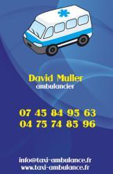 Cartes de visite taxi 681 - 45