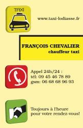 Cartes de visite taxi 646 - 65