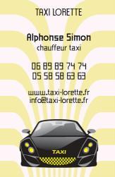 Cartes de visite taxi 649 - 73