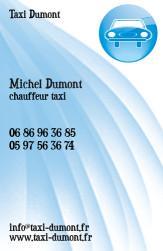 Cartes de visite taxi 651 - 18