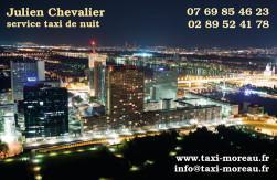 Cartes de visite taxi 658 - 67