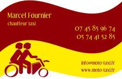 Cartes de visite taxi 674 - 11