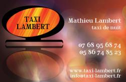 Cartes de visite taxi 652 - 103
