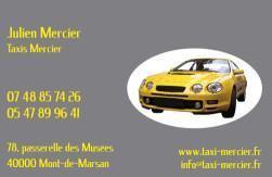 Cartes de visite taxi 689 - 60
