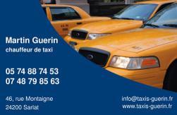 Cartes de visite taxi 690 - 61