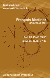 Cartes de visite taxi 644 - 27