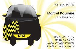 Cartes de visite taxi 650 - 37