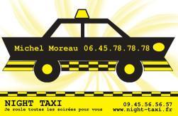 Cartes de visite taxi 671 - 23