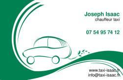 Cartes de visite taxi 672 - 51
