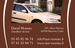 Cartes de visite taxi 686 - 56