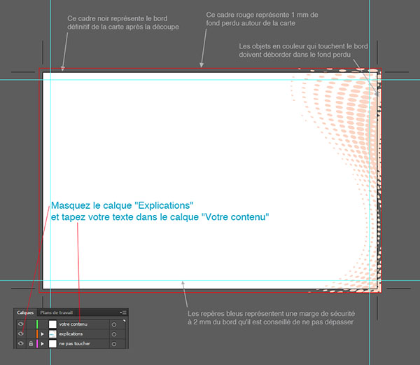 INDESIGN TÉLÉCHARGER GABARIT